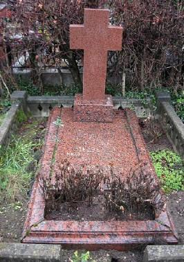 Могила Юрия Медведева на Троекуровском кладбище